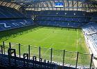 Kwiecień 2011. Stadion miejski w Poznaniu od wewnątrz