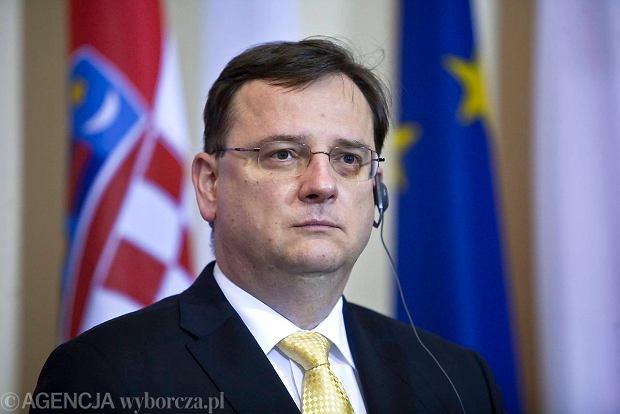 Petr Necas, premier Czech, mo�e za afer� zap�aci� stanowiskiem
