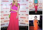 Kt�ra lepiej nosi�a nasycone kolory na imprezie Cosmopolitan?