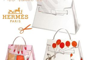 Hermes Kelly Bag - DIY!