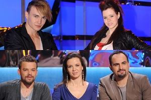 Dominik Olechowski, Paulina Papierska, Michał Piróg, Kinga Rusin i Augustin Egurrola.