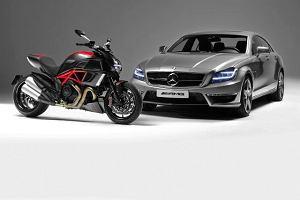 AMG i Ducati. Tandem marze�?