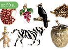 Biżuteria w owoce i zwierzęta