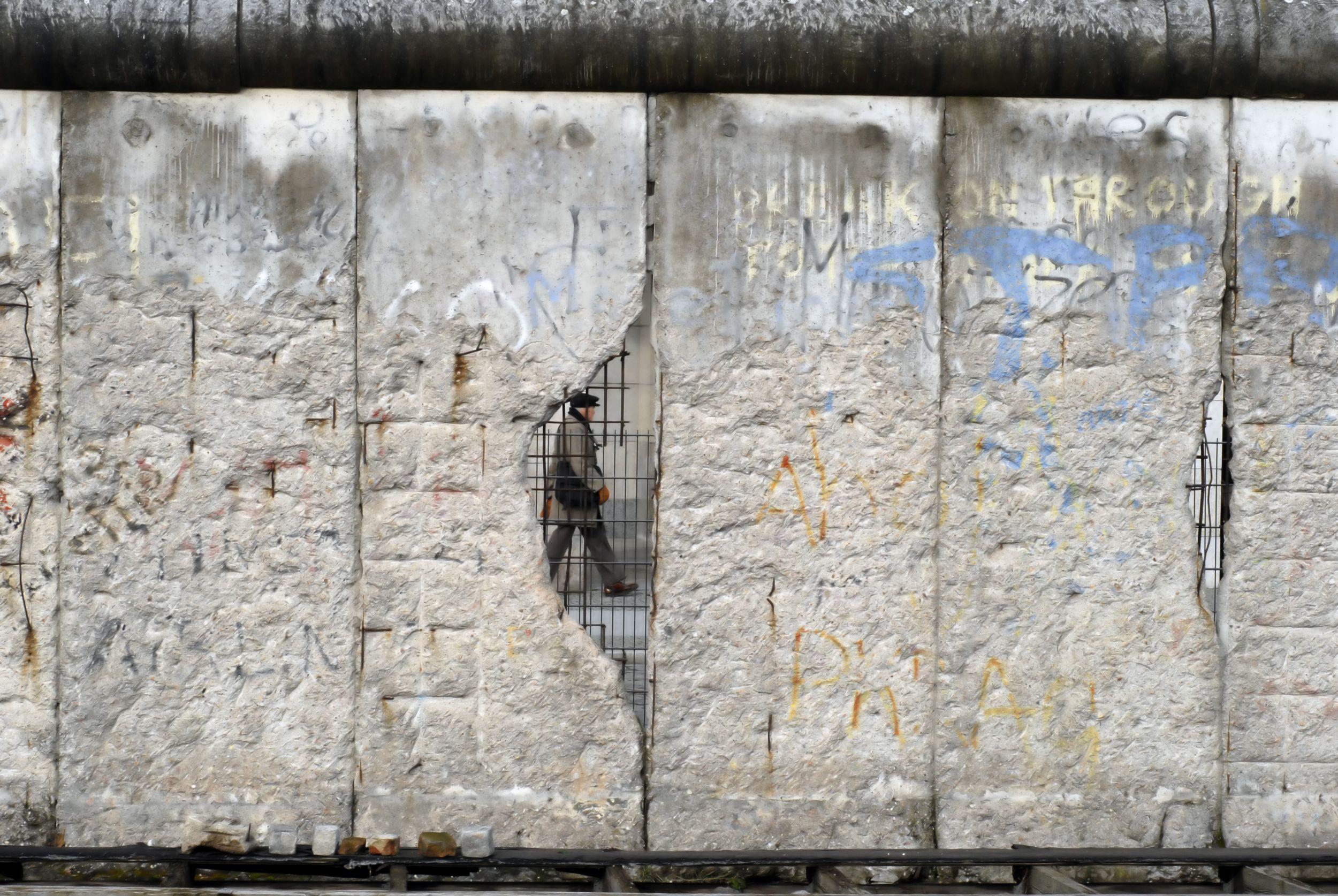 Pozostałości muru (fot. Carsten Medom Madsen / Shutterstock.com)