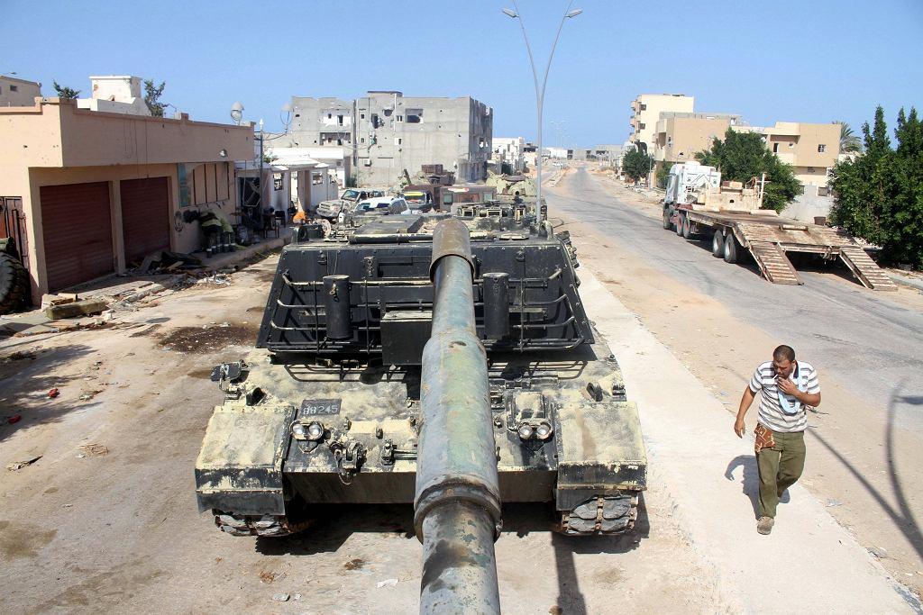 Czołg w Libii