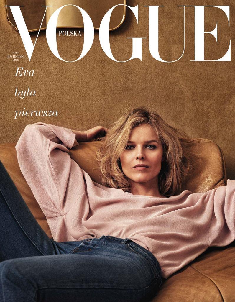 Okładka drugiego numeru 'Vogue Polska'