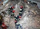 Wybuch gazu zniszczy� kamienic� w Katowicach. Pi�� os�b rannych, trzy nie �yj�