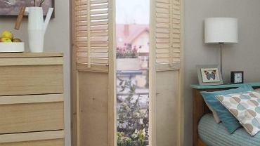 Drewniane okiennice wewnętrzne - można je kupić lub wykonać samemu.