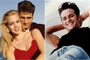 """Luke Perry wciąż przystojny, a Jennie Garth? Trudno ją poznać. Tak dzisiaj wyglądają bohaterowie """"Beverly Hills 90210"""""""