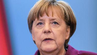 Kanclerz Niemiec Angela Merkel w Polsce (fot. Dawid Uchowicz/AG)