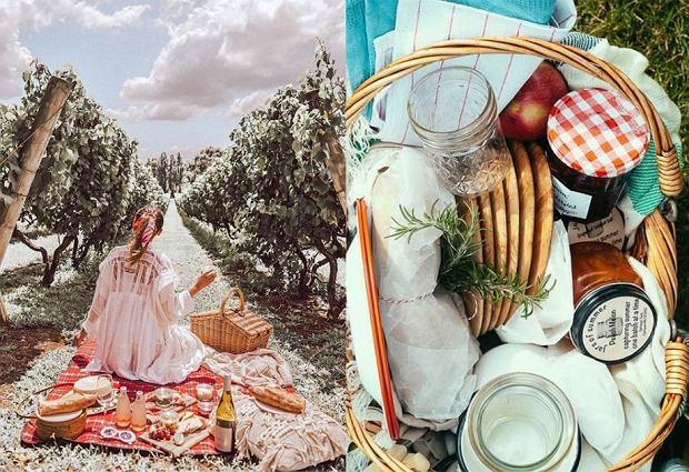 Akcesoria piknikowe: kosze, kocyki, torby termiczne
