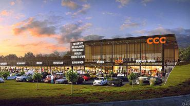 Tak będzie wyglądać park handlowy w Polkowicach