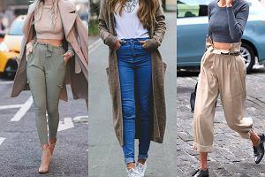 Spodnie z wysokim stanem - z czym je łączyć?