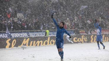 Ivan Djurdjević po meczu Lech Poznań - Juventus rozegranym w śniegu 1 grudnia 2010 roku