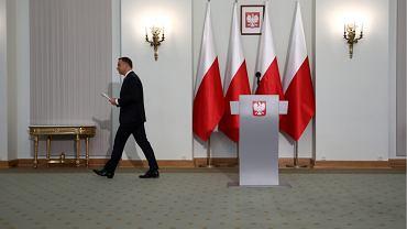 Prezydent Andrzej Duda przedstawił projekty ustaw