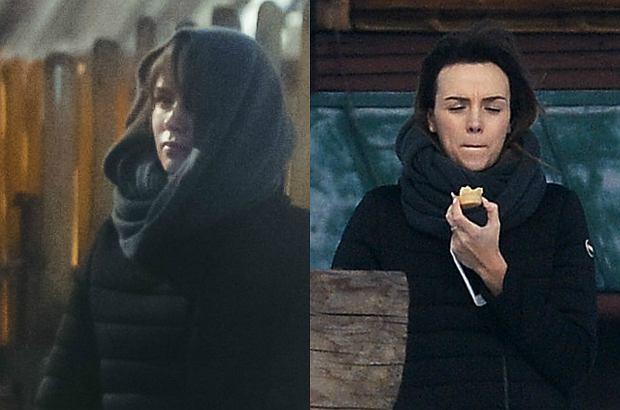 Paparazzo towarzyszył Paulinie Krupińskiej na spacerze z córką. Miss Polonia 2012 przeszła się po okolicy i zaszła do cukierni.