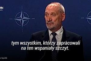 """Konferencja rz�du po szczycie NATO: """"Gdyby nie przyw�dztwo Jaros�awa Kaczy�skiego, ten sukces nie by�by mo�liwy"""""""