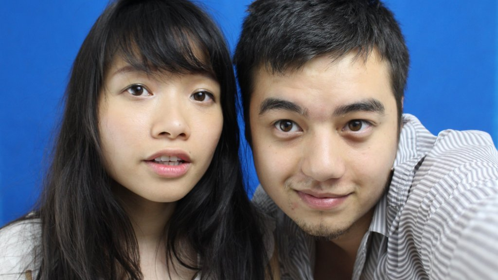 Huyen Pham i Marcin Nguyen, prowadzący kanał Emce Kwadrat (fot. materiały promocyjne) / Huyen Pham i Marcin Nguyen, prowadzący kanał Emce Kwadrat (fot. materiały promocyjne)