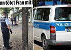 """MSZ: kobieta, którą zabił w Niemczech syryjski uchodźca, to Polka. Bild: """"Była w ciąży"""""""