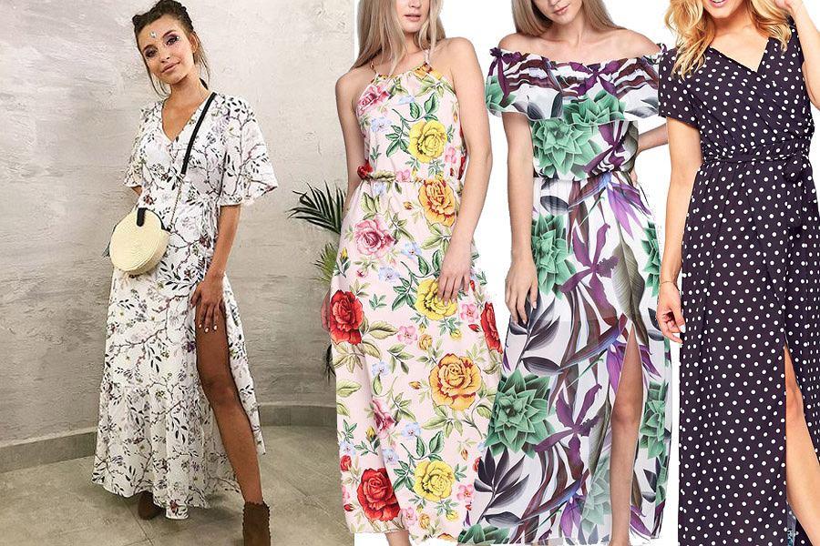 e061f99b13 Długie sukienki są idealne na lato. Mamy fasony w stylu Julii ...