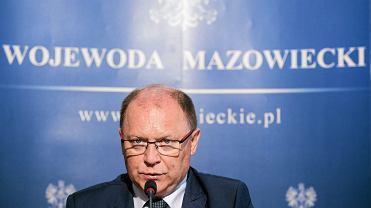 Wojewoda mazowiecki Zdzisław Sipiera