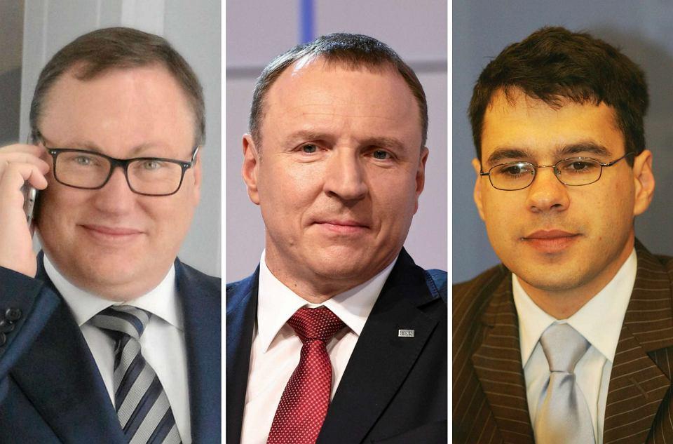 Grzegorz Bierecki, Jacek Kurski, Michał Karnowski