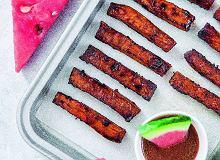 Frytki z�arbuzowym sosem barbecue - ugotuj