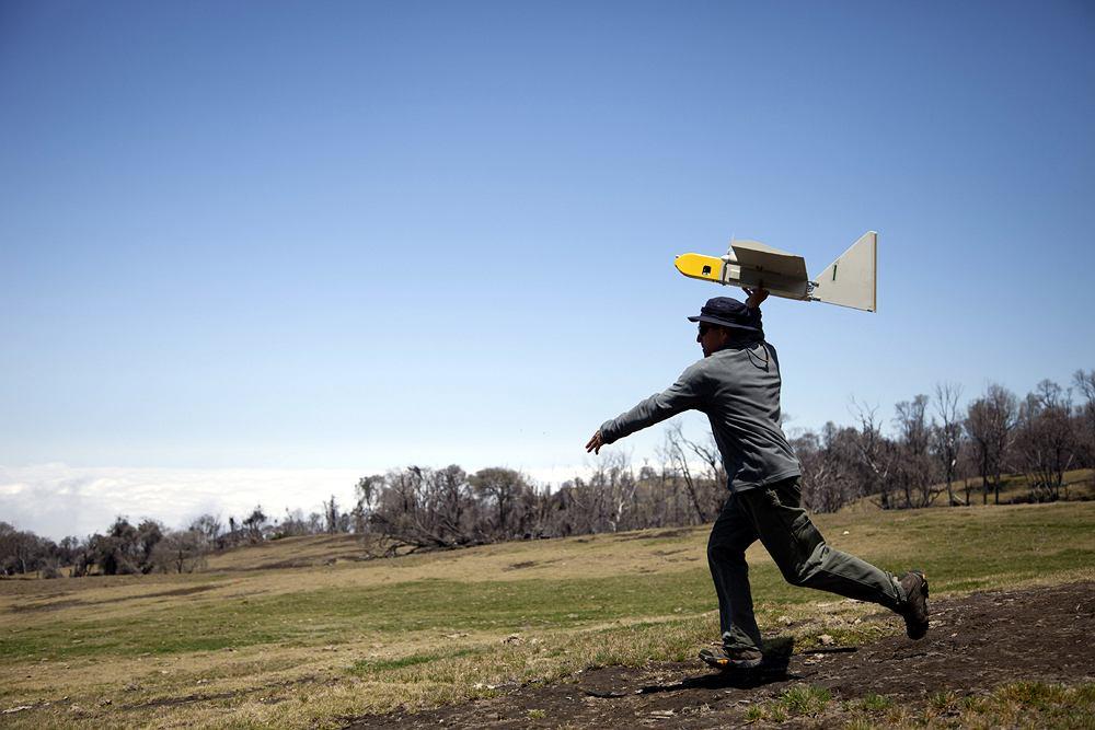 Wojskowy dron zaadaptowany do potrzeb naukowych