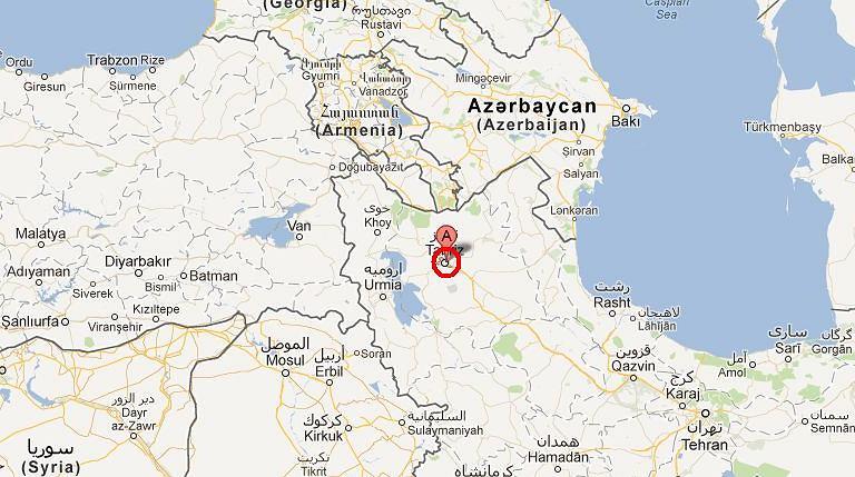 Ziemia zatrzęsła się w okolicach miasta Tebriz.