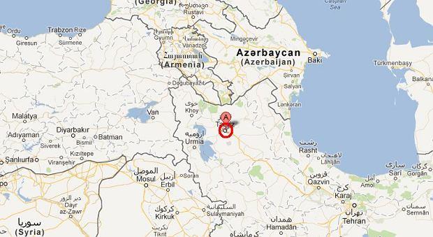 Ziemia zatrz�s�a si� w okolicach miasta Tebriz.