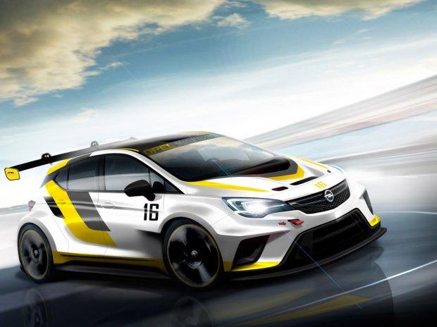 Opel wraca do wy�cig�w z nowym modelem Astry