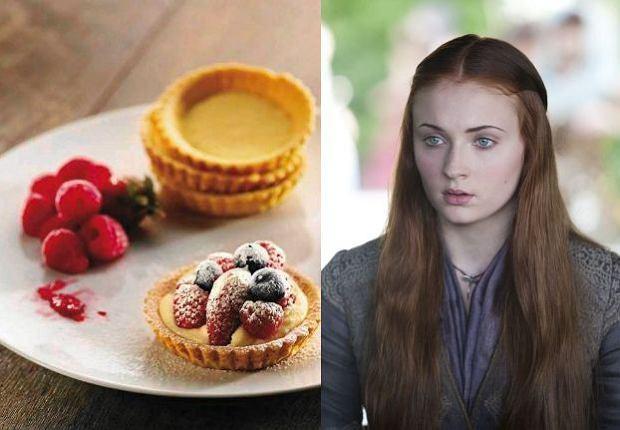 Cytrynowe ciasteczka Sansy Stark