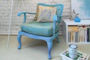 Jak odnowi� stary fotel?