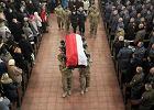Pogrzeb policjanta, który zginął w strzelaninie w Wiszni Małej. Przyjechał m.in. Błaszczak i Szymczak