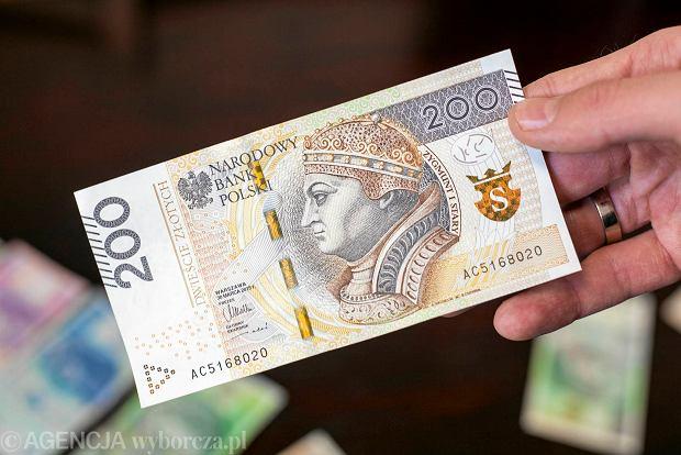 W Krakowie zaprezentowano nowy banknot 200 zł [ZDJĘCIA]
