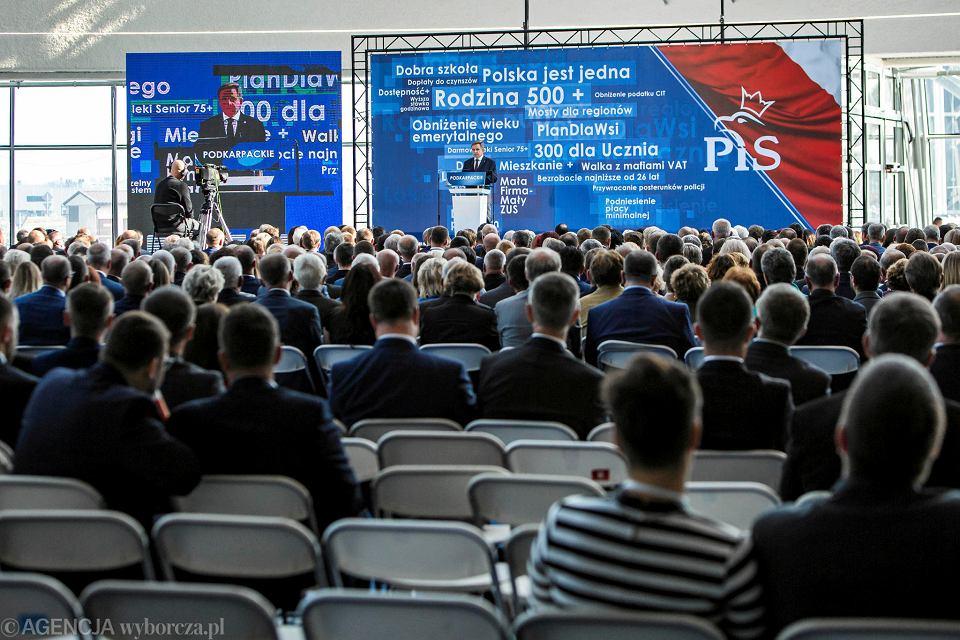 Konwencja PiS w Jasionce