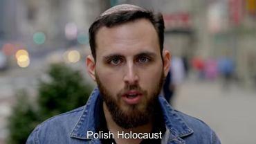 Kadr z filmu, który promuje akcję 'Never Deny'
