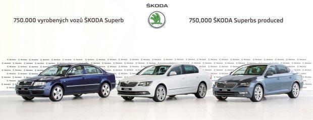 Skoda Superb   Du�o, du�o Superb�w