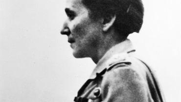 """Wanda Gertz, komendantka jednostki kobiecej """"Dysk"""""""
