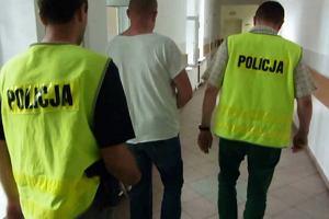 Przyszedł na dozór policyjny z narkotykami