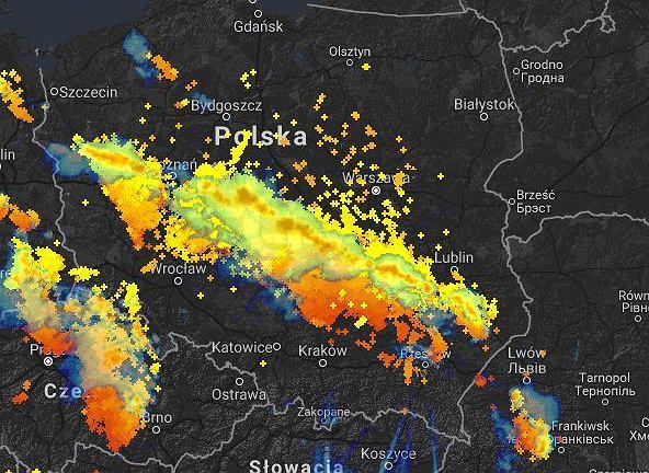 Burze nad Polską