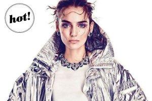"""Zuza Bijoch w sesji dla """"Vogue Japan"""" b�yszczy...I to dos�ownie! Czy zdj�cia polskiej modelki s� lepsze ni� ok�adka?"""