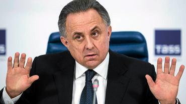 Wicepremier Rosji Witalij Mutko