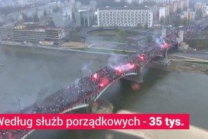 """Marsz Niepodleg�o�ci bez zamieszek, ale z krzy�ami celtyckimi i """"J**a� TVN!"""""""