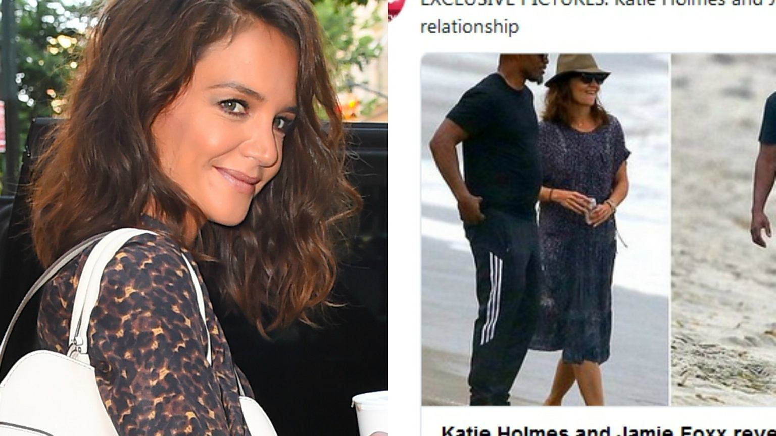Przez 4 lata umiejętnie ukrywali swój związek. W końcu są ich zdjęcia z randki. Katie Holmes i zdobywca Oscara są parą!