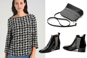 Ponadczasowa pepitka - ubrania i dodatki w trzech stylizacjach
