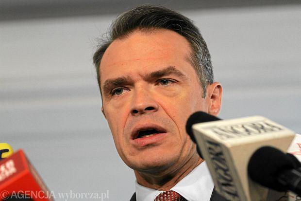 Sławomir Nowak w piątek podał się do dymisji