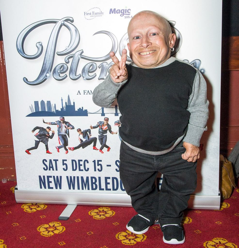 Verne troyer and ranae shrider