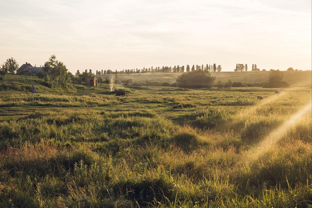 Po wiosce Gaj dziś prawie nie ma śladu (fot. Marcin Jończyk)