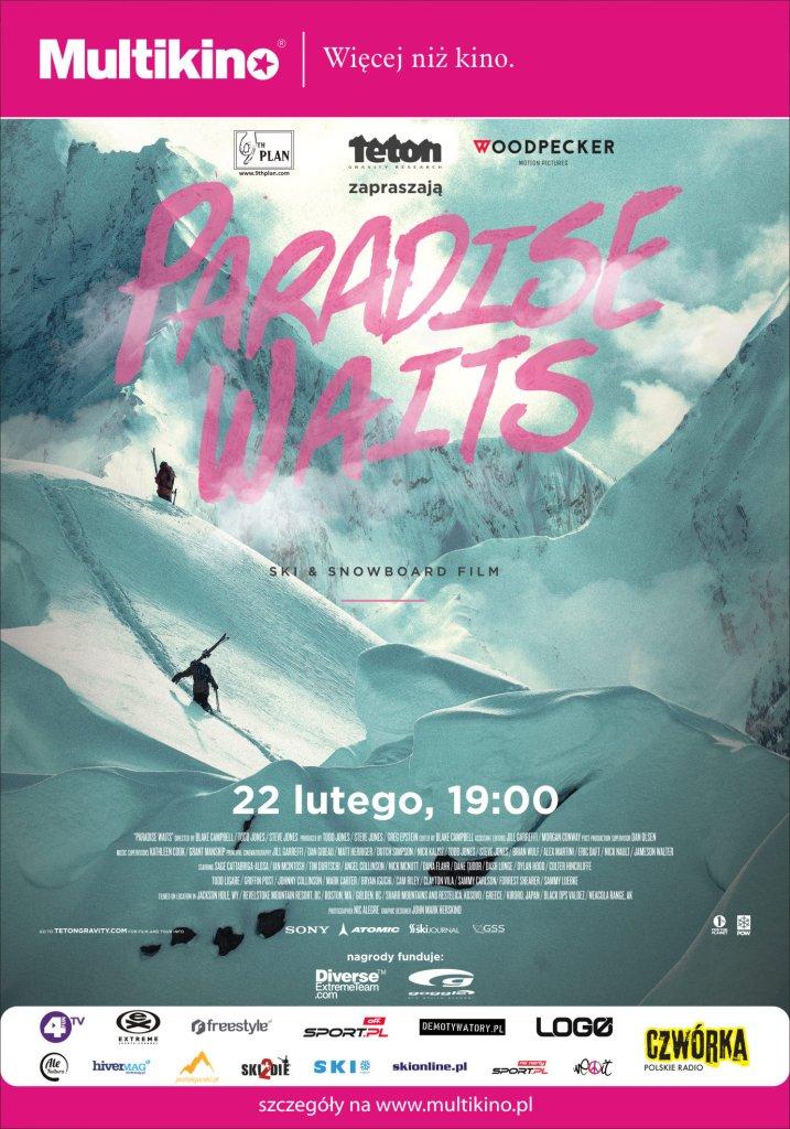 Paradise Waits największa produkcja narciarska i snowboardowa sezonu